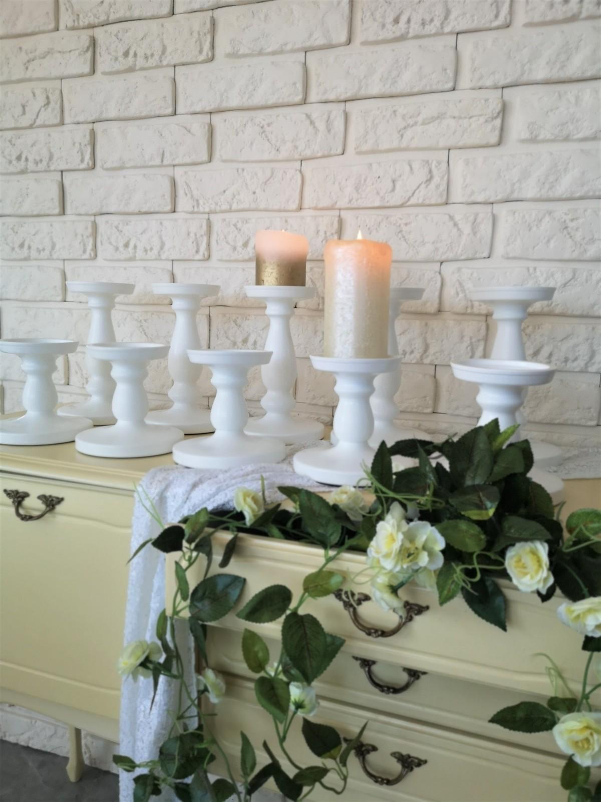 Žvakidės, žibintai